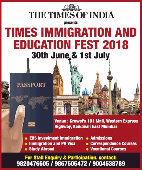 Immigration and education Fest 2018 Mumbai