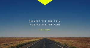 winners see the gain