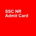 Ssc Nr Admit Card